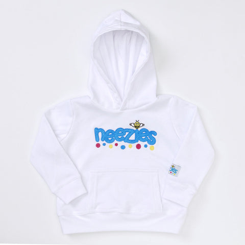 Hoodie (white with full logo)