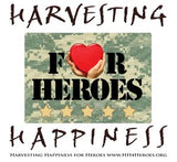 Harvesting Happiness for Heroes Logo