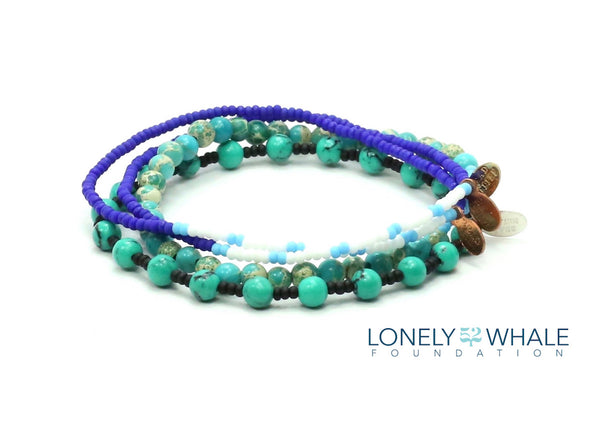 52 The Lonely Whale Foundation Bracelet Combo Stack - Bead Relief