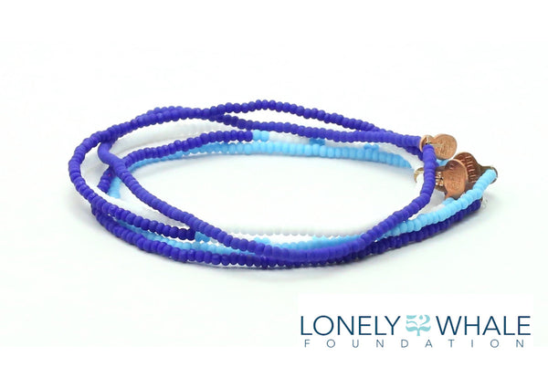 52 The Lonely Whale Foundation Bracelet 5-pack - Bead Relief