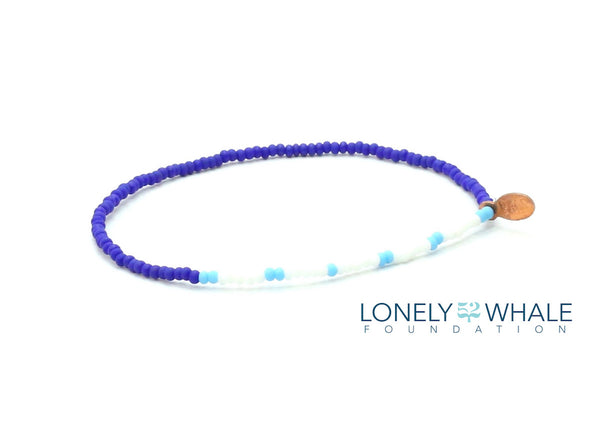 52 The Lonely Whale Foundation Bracelet - Bead Relief