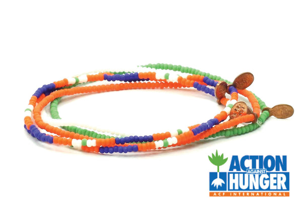 Action Against Hunger Bracelet 5-pack - Bead Relief