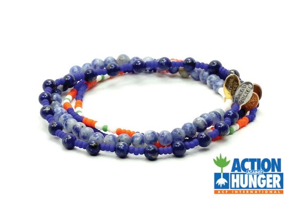 Action Against Hunger Bracelet Combo Stack - Bead Relief