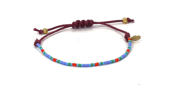 Alzheimer's Greater Los Angeles String Tie Bracelet