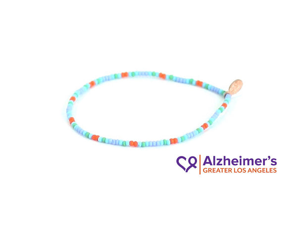 Alzheimer's Greater Los Angeles Bracelet - Bead Relief