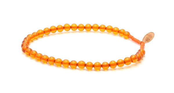 Amber | Good Luck Bracelet - Bead Relief