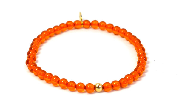 Amber | Gold Line - Bead Relief