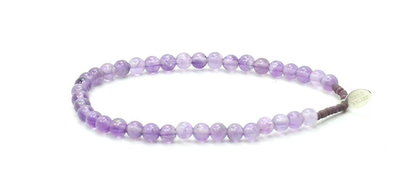 Amethyst | Purity Bracelet - Bead Relief