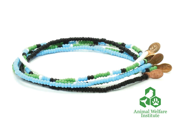 Animal Welfare Institute Bracelet 5-pack - Bead Relief