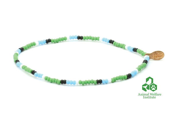 Animal Welfare Institute Bracelet - Bead Relief