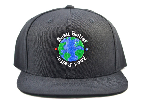 Bead Relief World Hat | Front