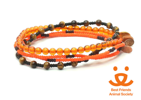 Best Friends Animal Society Bracelet Combo Stack - Bead Relief