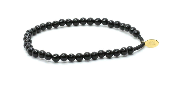 The Young & Brave Black Onyx Bracelet - Bead Relief