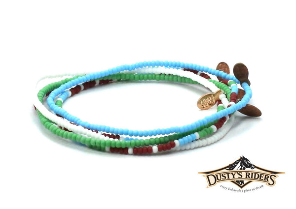 Dusty's Riders Bracelet 5-pack - Bead Relief