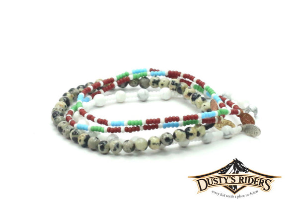 Dusty's Riders Bracelet Combo Stack - Bead Relief