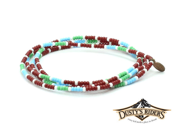 Dusty's Riders Wrap Bracelet - Bead Relief