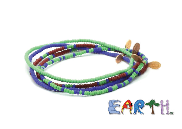 EARTH, ltd Bracelet 5-pack - Bead Relief