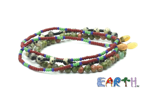 EARTH, ltd Bracelet Combo Stack - Bead Relief