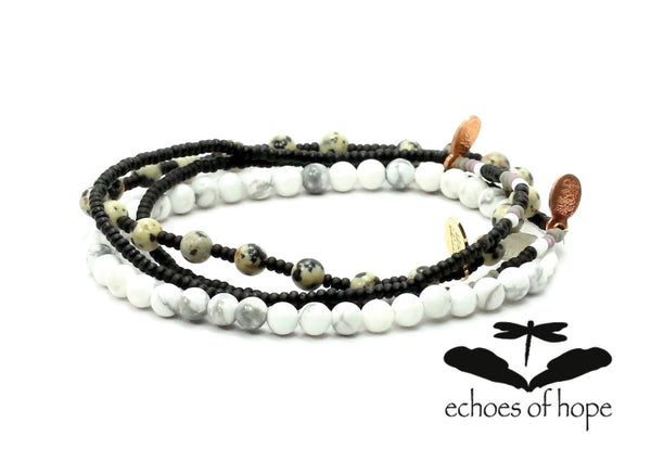 Echoes of Hope Bracelet Combo Stack - Bead Relief