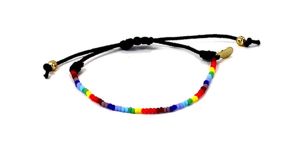 Free2Luv Anti-Bullying String Tie Bracelet