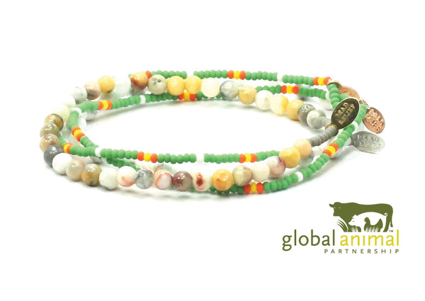 Global Animal Partnership Bracelet Combo Stack - Bead Relief