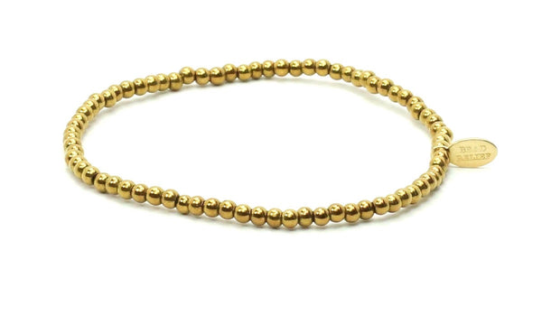 Gold Plated | Metals Bracelet - Bead Relief