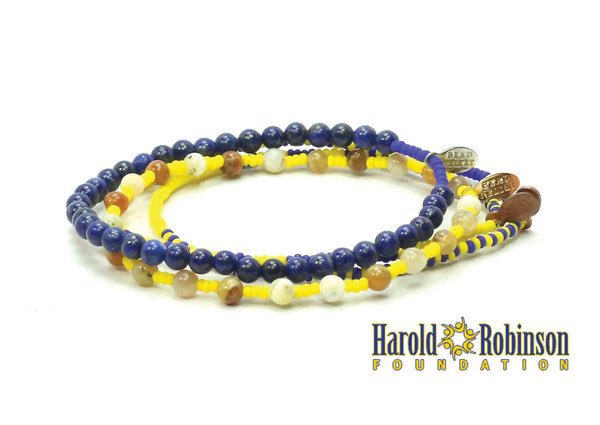 Harold Robinson Foundation Bracelet Combo Stack - Bead Relief