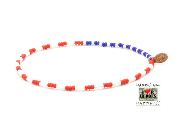 Harvesting Happiness for Heroes Bracelet - Bead Relief