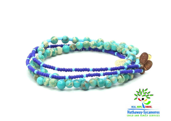 Hathaway-Sycamores Bracelet Combo Stack - Bead Relief