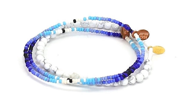Ice Natural Stone Bracelet - Bead Relief