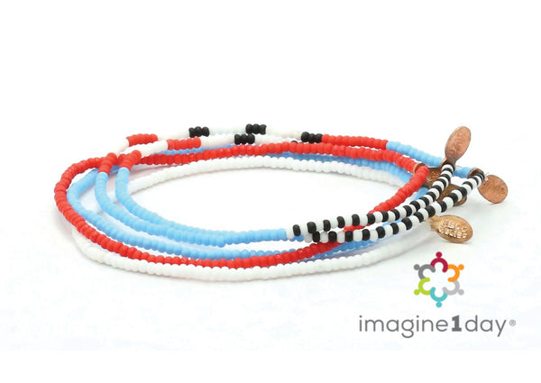 imagine1day Bracelet 5-pack - Bead Relief