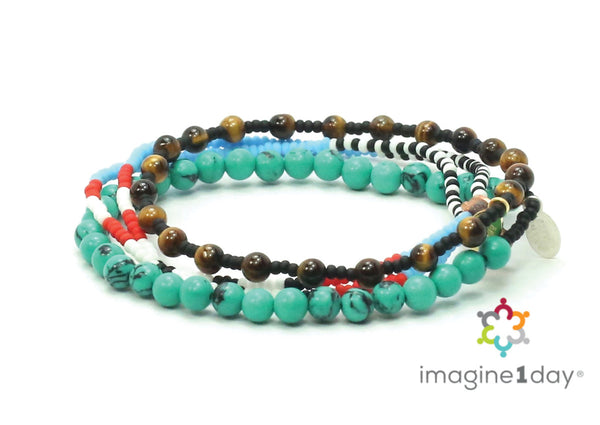 imagine1day Bracelet Combo Stack - Bead Relief
