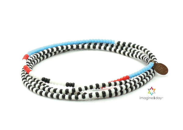 imagine1day Wrap Bracelet - Bead Relief
