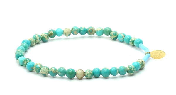 Imperial Jasper | Tranquility Bracelet - Bead Relief
