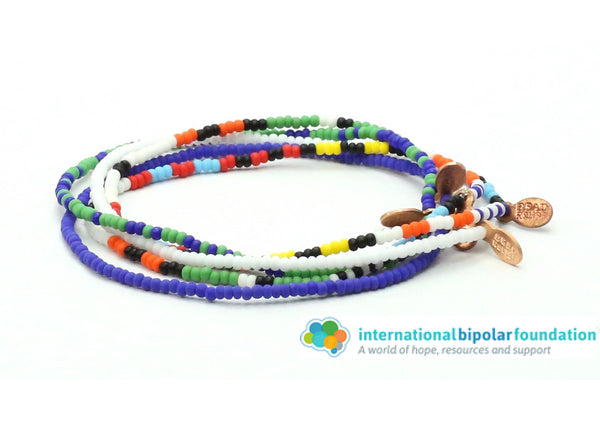International Bipolar Foundation 5-pack Stack - Bead Relief