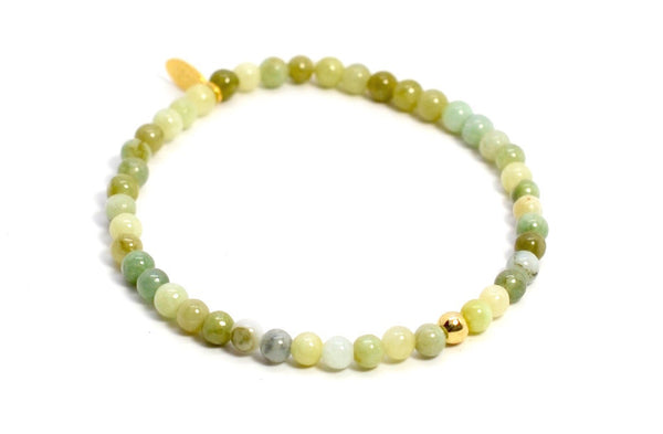 Jade | Gold Line - Bead Relief