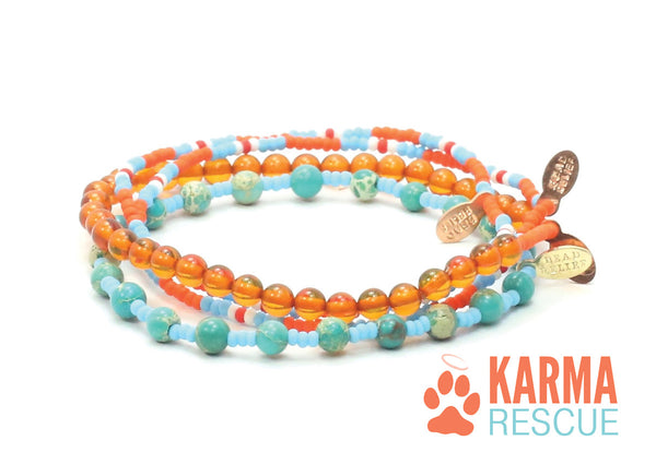 Karma Rescue Bracelet Combo Stack - Bead Relief
