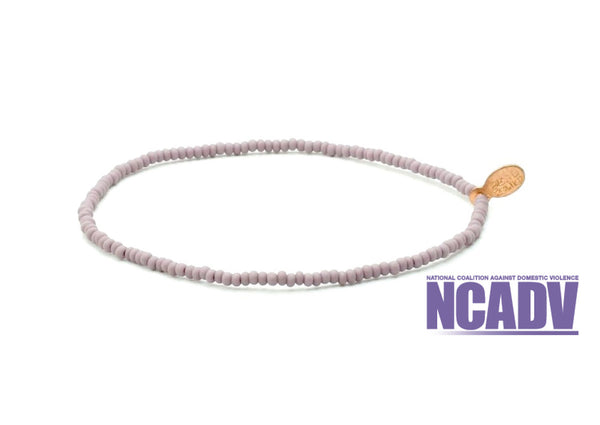 National Coalition Against Domestic Violence Bracelet - Bead Relief