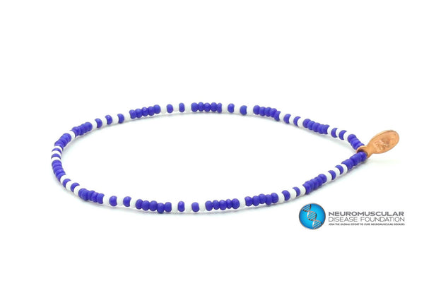 Neuromuscular Disease Foundation Bracelet - Bead Relief