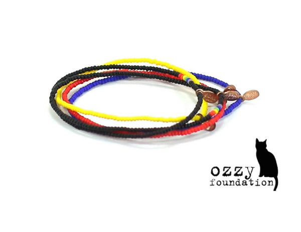 The Ozzy Foundation Bracelet 5-pack - Bead Relief