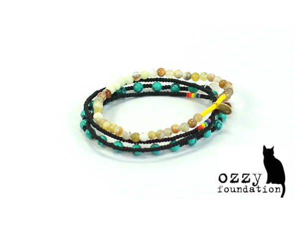 The Ozzy Foundaiton Bracelet Combo Stack - Bead Relief