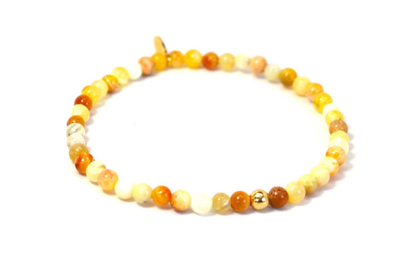 Opal | Gold Line - Bead Relief