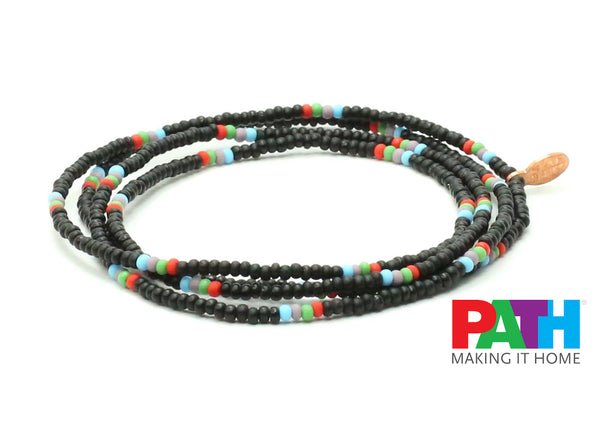 PATH Homeless Assistance Wrap Bracelet - Bead Relief