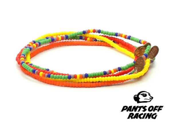 Pants Off Racing Bracelet 5-pack - Bead Relief
