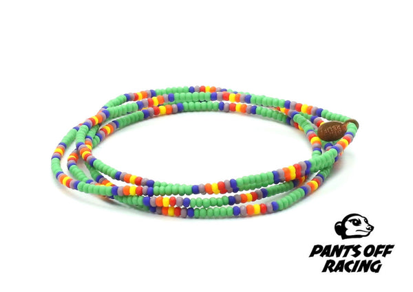Pants Off Racing Wrap Bracelet - Bead Relief