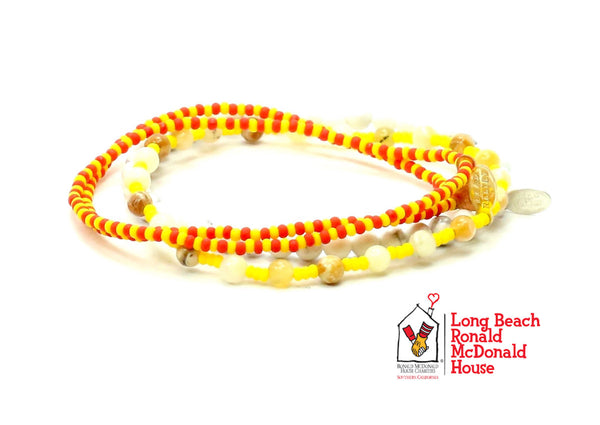 Ronald McDonald House Long Beach Bracelet Combo Stack - Bead Relief