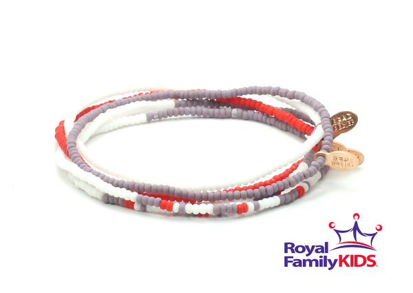Royal Family Kids Bracelet 5-pack - Bead Relief