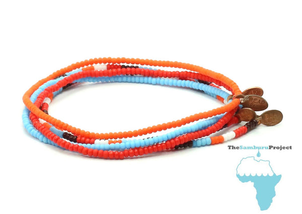 The Samburu Project Bracelet 5-pack - Bead Relief