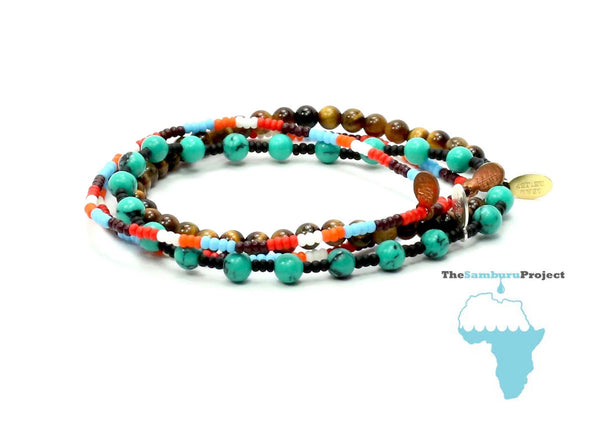 The Samburu Project Bracelet Combo Stack - Bead Relief