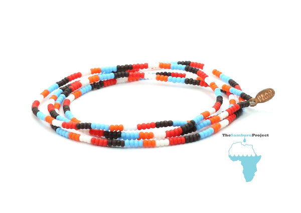 The Samburu Project Wrap Bracelet - Bead Relief